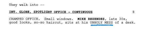 mess script