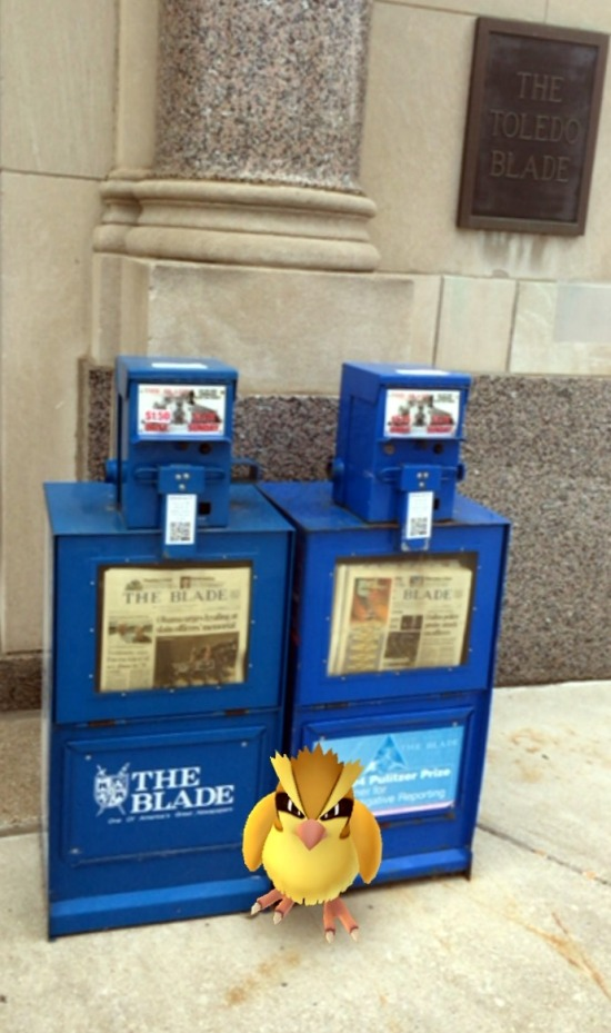 pokemon toledo newspaper